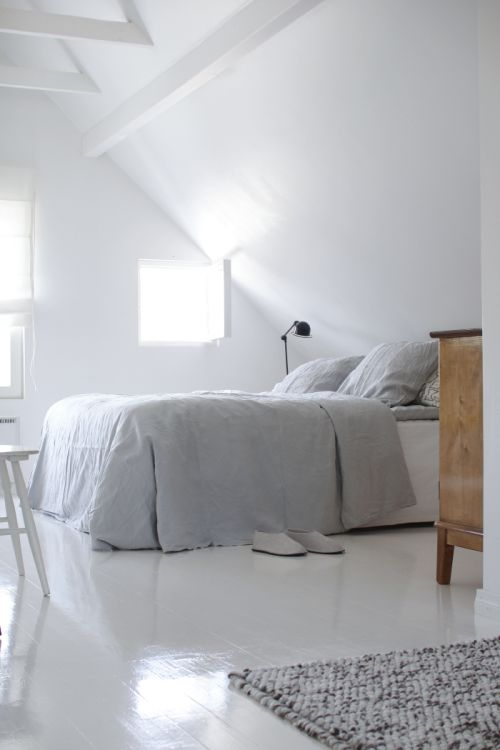 Bedroom inspiration from Turku, Finland | Photo by Finnish interior architect & ...