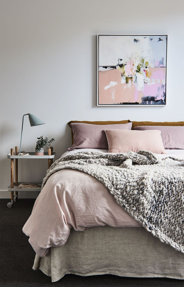 Furniture Bedrooms Blush Amp Grey Decor Object Your