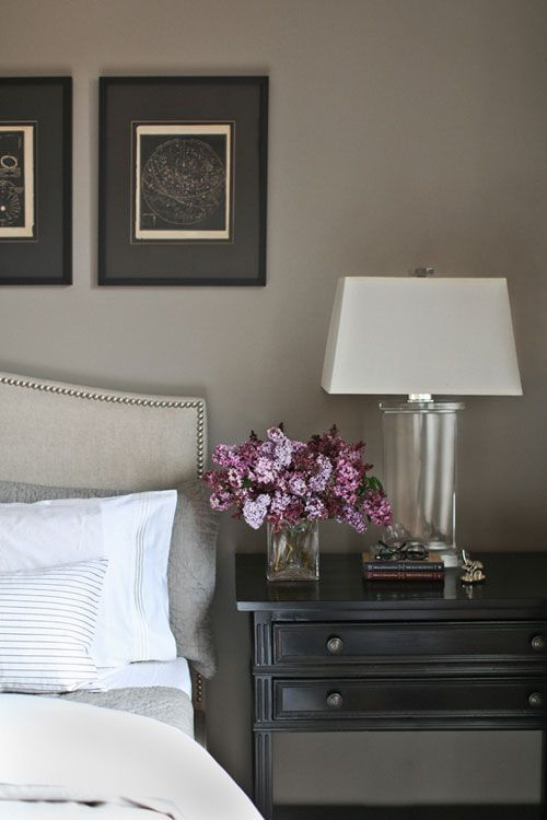Furniture Bedrooms Gray Night Stand And In A Similar