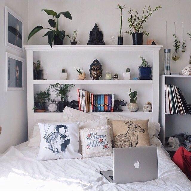Shelf headboard
