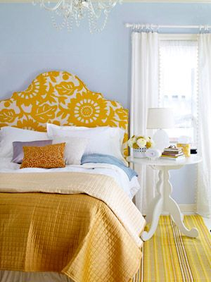 Furniture Bedrooms Yellow And White Love The Slate