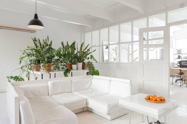 A designer's loft in Helsinki...