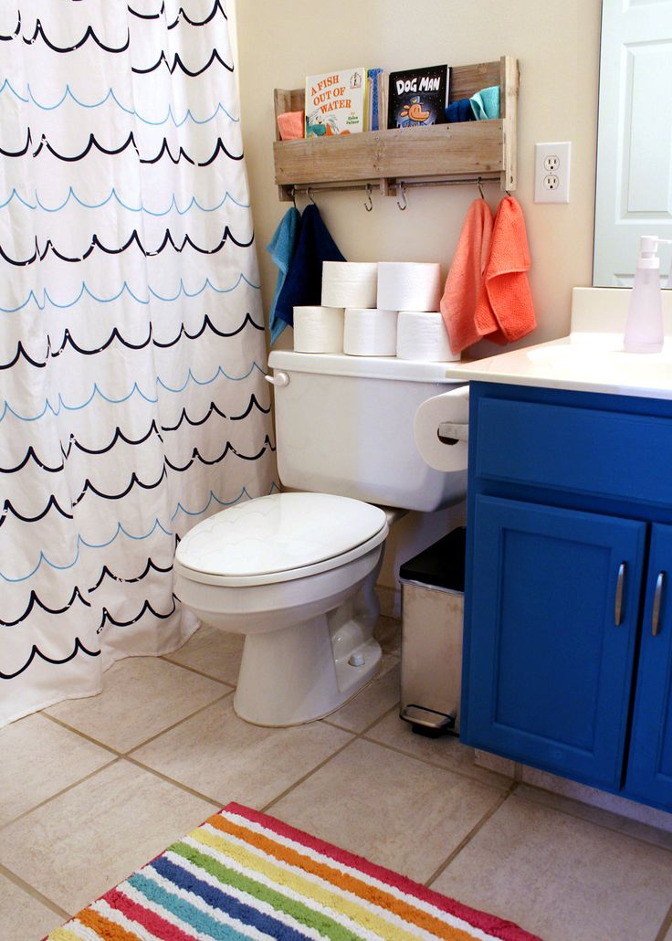 4 Ways to Give Your Kids Bathroom a Refresh