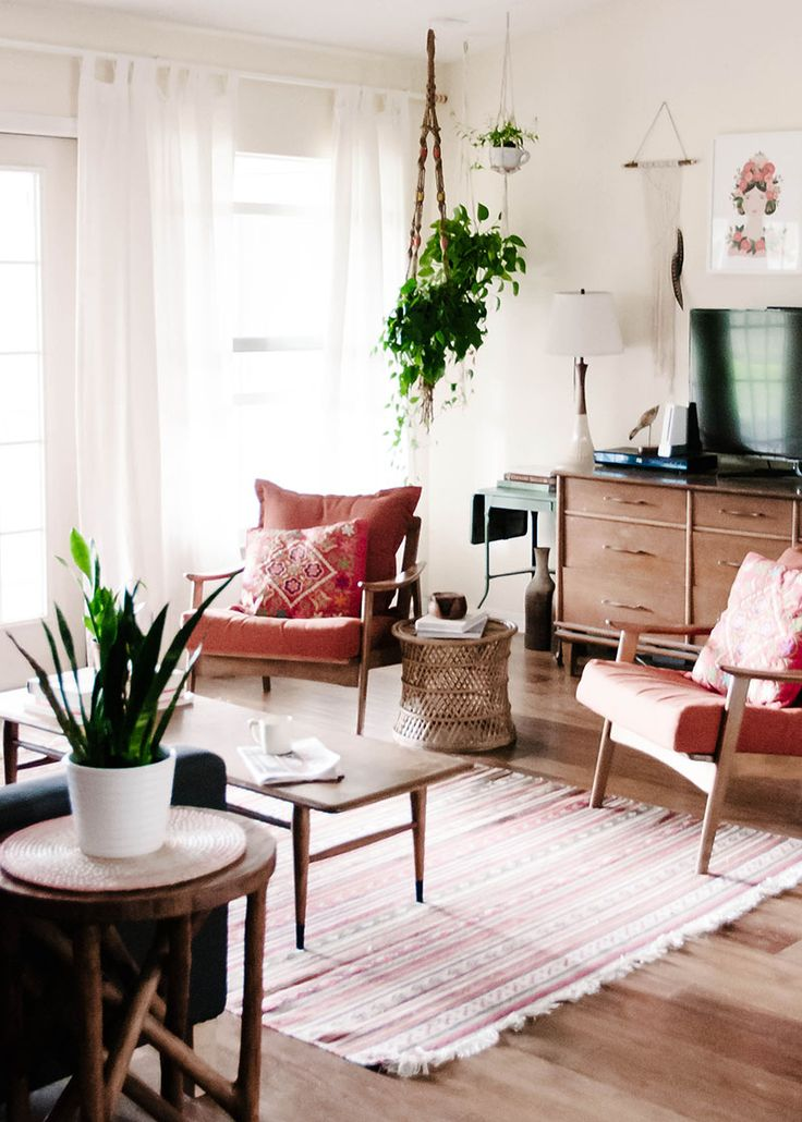 Awesome Bohemian Charm Meets Mid Century Modern In Sunny Florida Interior Design Ideas Gentotthenellocom