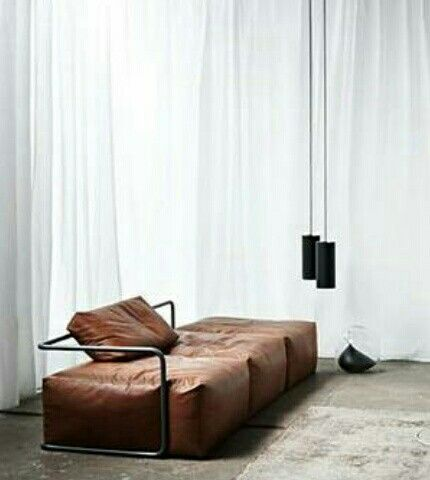 Home Decorating DIY Projects: Cognac leather sofa - Decor ...