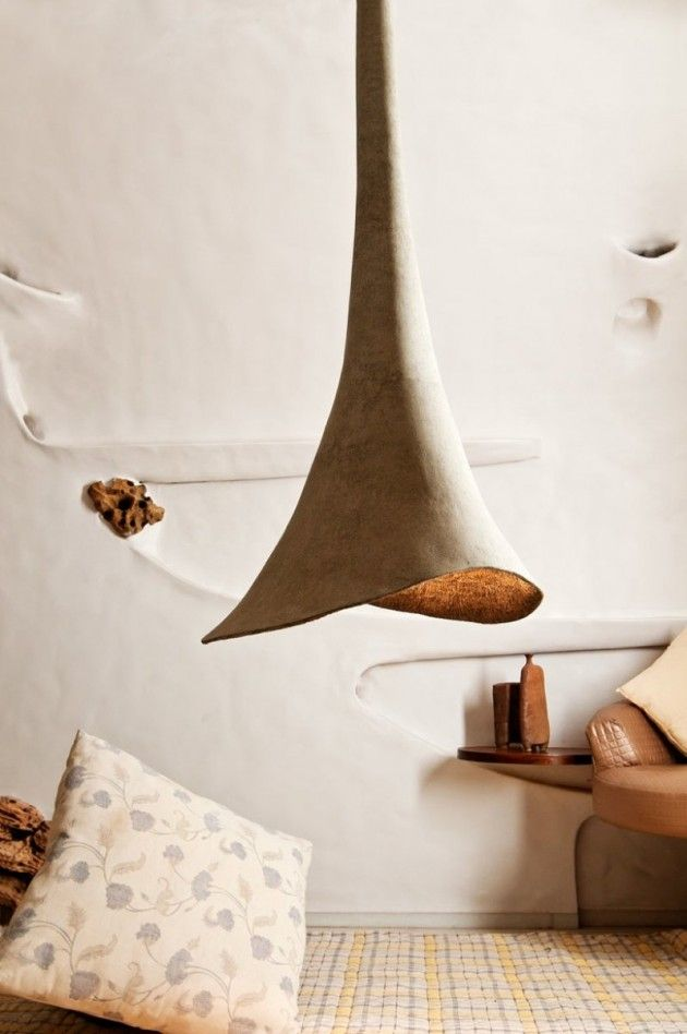 Lamps and lighting home decor recycled paper objects by for Decorative objects for home