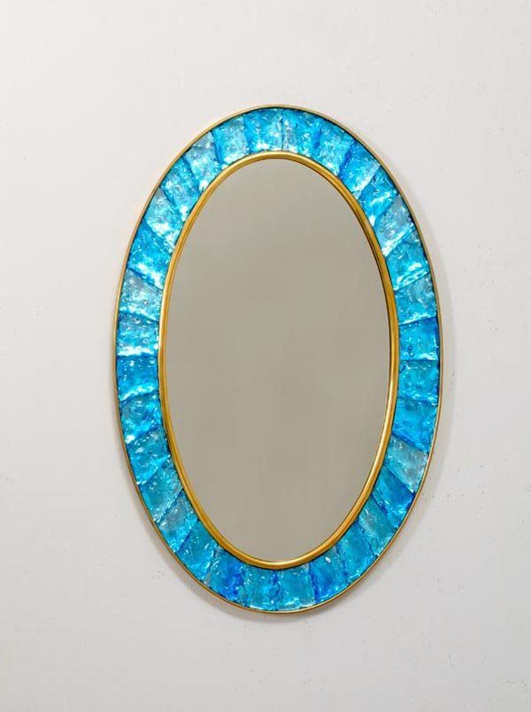 Mirrors home decor anonymous brass and glass wall for Decorative objects for home