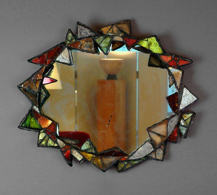 Mirrors home decor line vautrin miroir cubiste for Miroir line vautrin