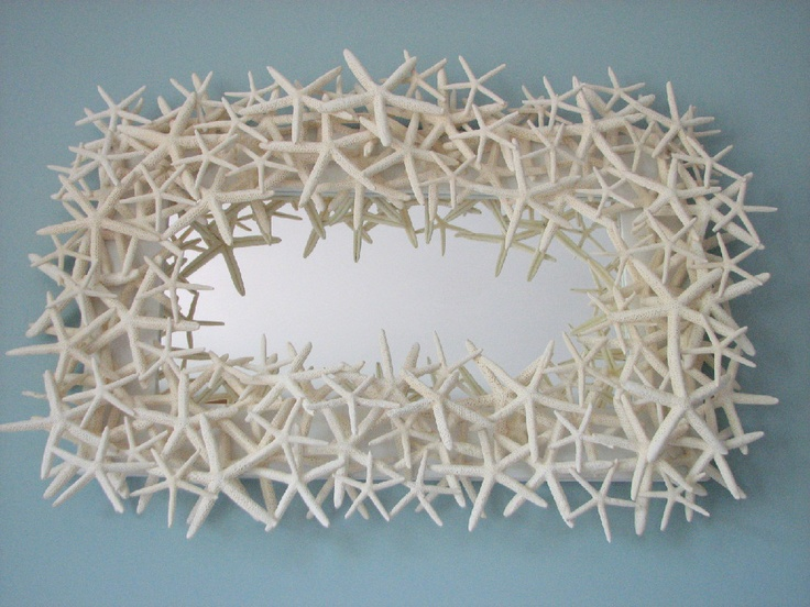miroir en etoile de mer