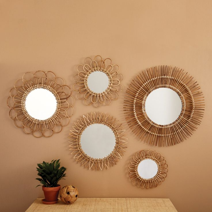 Mirrors home decor miroir soleil decor object for Miroir soleil deco