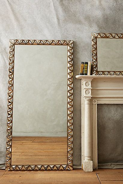 Studded Pyramid Mirror #anthropologie