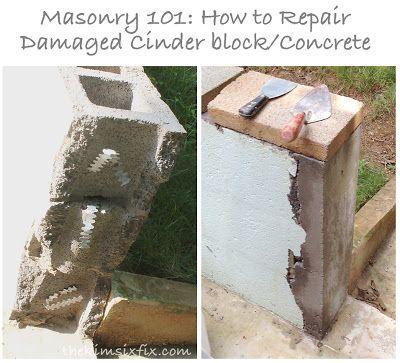 Outdoor Decorating Gardening Masonry 101 How To Repair