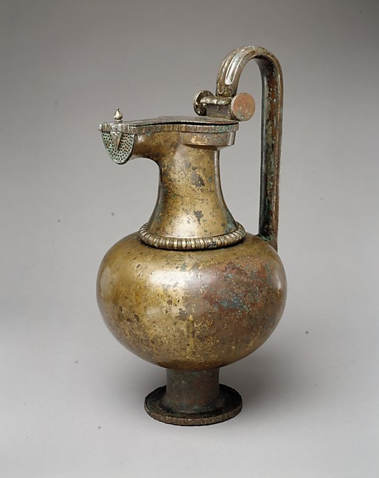 Bronze jug. Period: Archaic. Date: ca. 6th–early 5th century B.C. Culture: Eas...