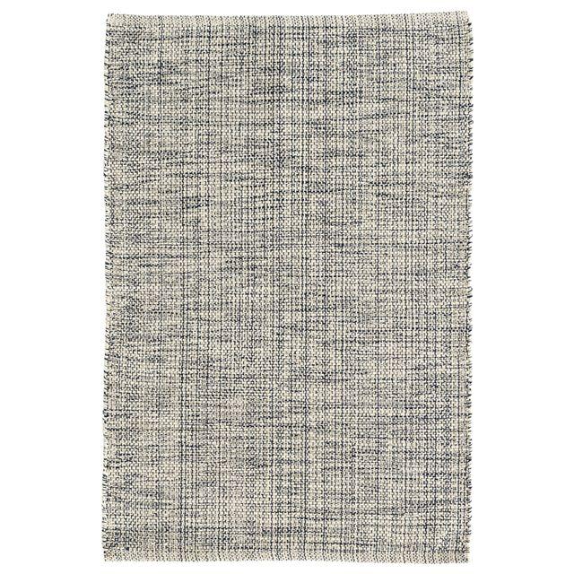 Dash & Albert Marled Indigo Woven Cotton Rug DADA138