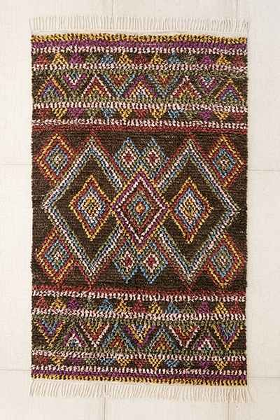 Rugs Home Decor Kenya Diamond Moroccan Shag Rug