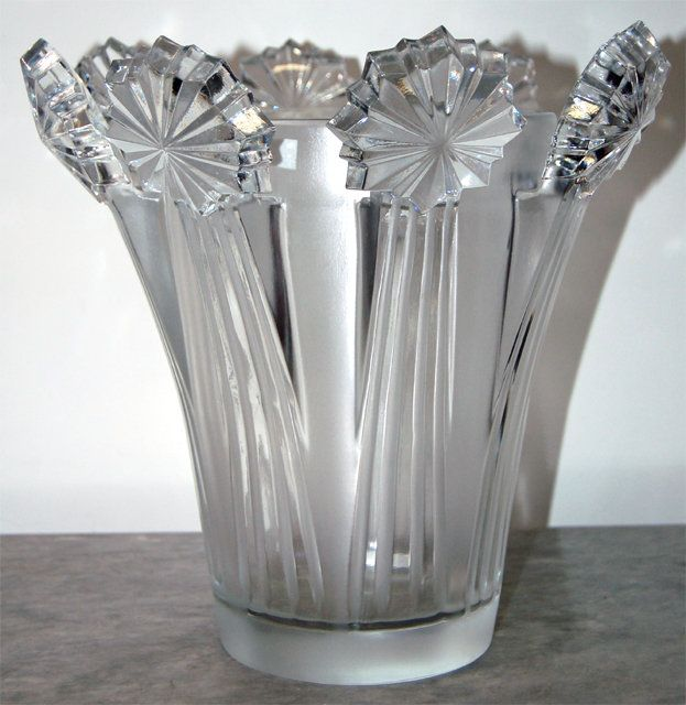 Home Decor Vase: Home Decor : Beautiful 1950s Lalique Crystal Vase