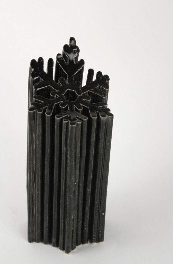 Vases home decor extruding clay by max cheprack via for Decorative objects for home