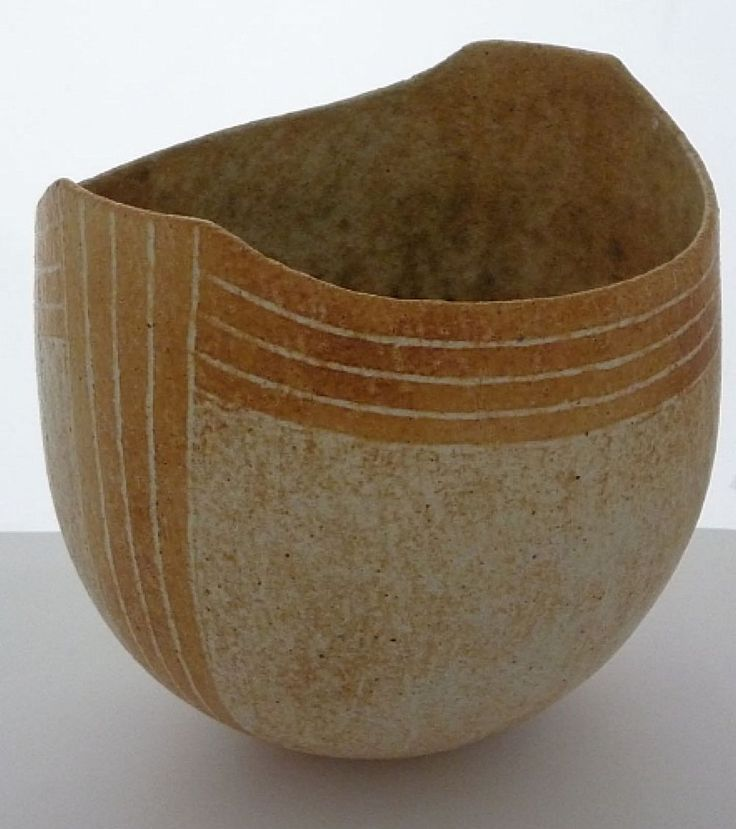 Vases home decor sand with stripes john ward for Decorative objects for home