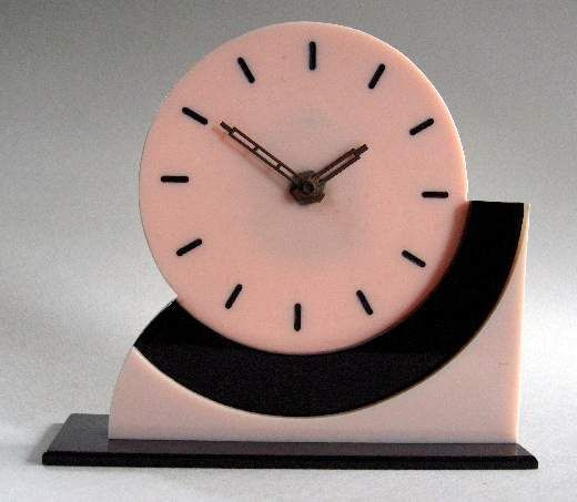 Decor : Art Deco Table Clock, French. @Deidra