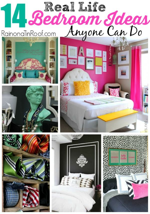 Diy Home Decor Ideas That Anyone Can Do: Decor Hacks : 14 Real Life Bedroom Ideas Anyone Can Do Via