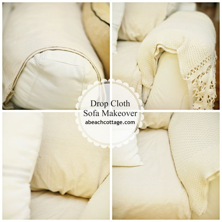 Decor Hacks No Sew Sofa Makeover How To Cover A Sofa