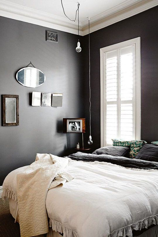 20 Beautiful Black White Bedrooms Apartment Therapy