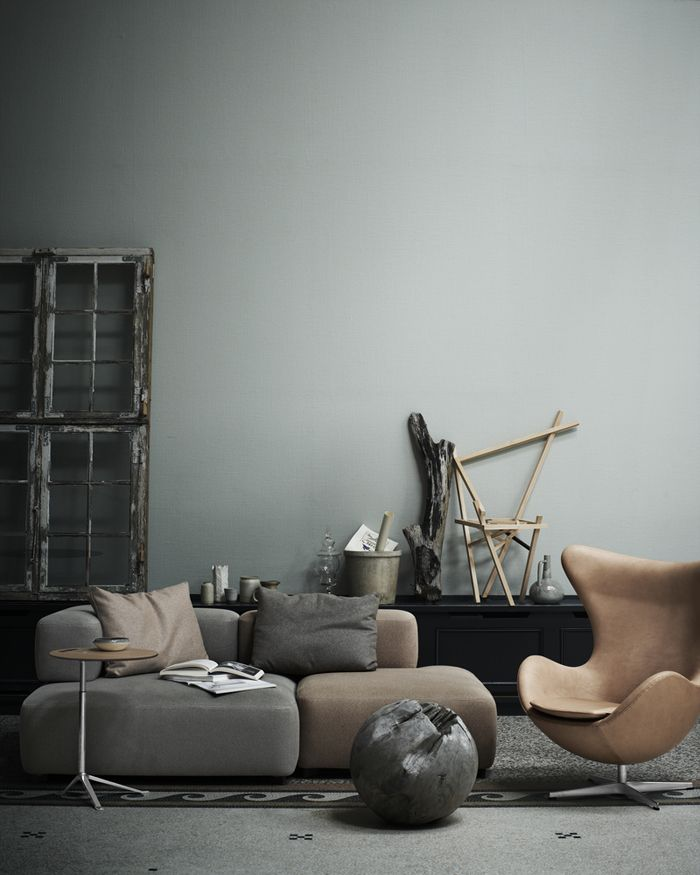 The Egg by Arne Jacobsen in Rustic leather is my all time favorite lounge chair....
