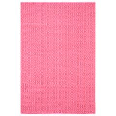 Dash & Albert Fair Isle Pink and Fuchsia Cotton Woven Rug DARDA333