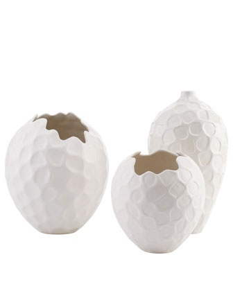 NoCal Honeycomb Vases - Horchow