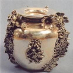Silver Antique Vases