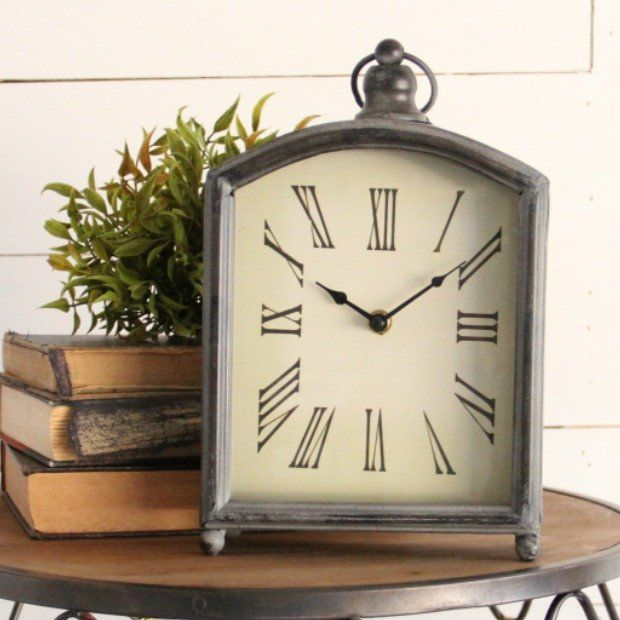 Clocks decor objects grand admiral mantle table clock for Decorative objects for home