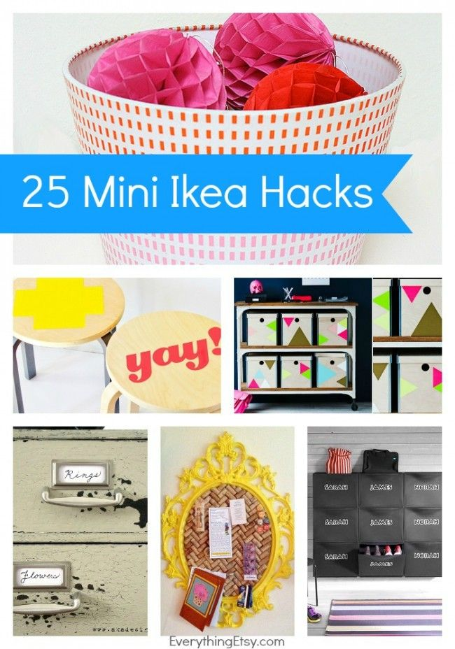 Decor Hacks 25 Mini Ikea Hacks Quick And Easy Tutorials