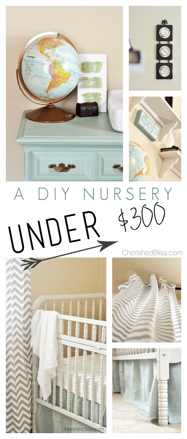 Decor Hacks A Diy Nursery On A Budget This Room Was