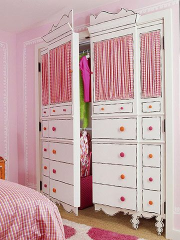 awesome closet door disguise