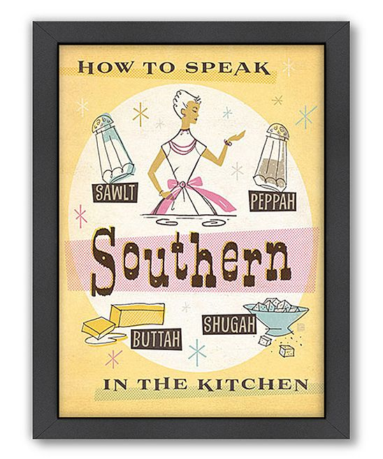 How to Speak Southern in the Kitchen