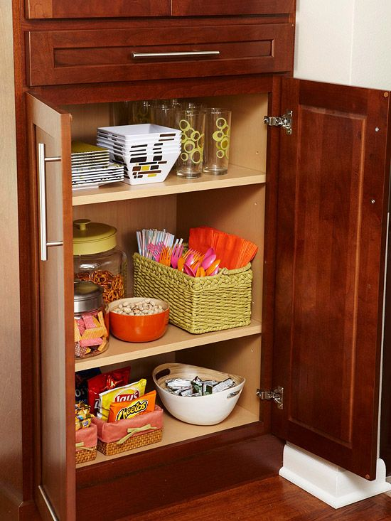 Decor hacks i like the idea of a kid 39 s pantry a place for Places to get home decor
