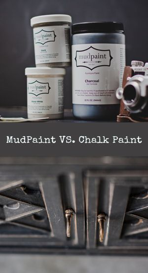 Mudpaint - a new line of furniture paint. Great for antiquing and distressing!!