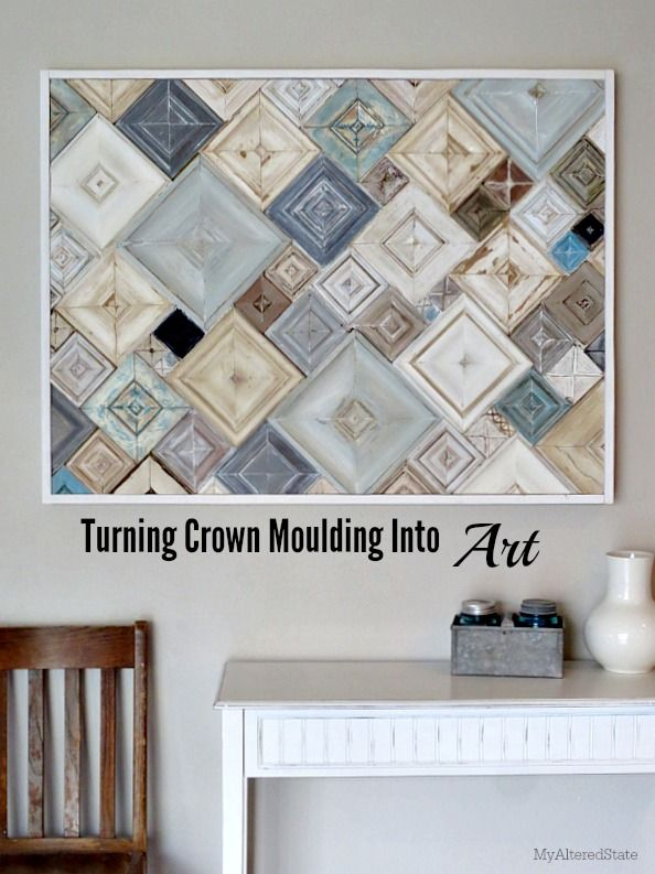 Decor hacks spectacular wall art and a great read at for Home decor hacks