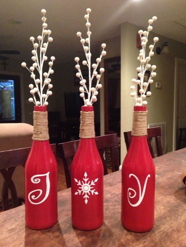 Decorative Bottles Wine Bottle Crafts Decor Object