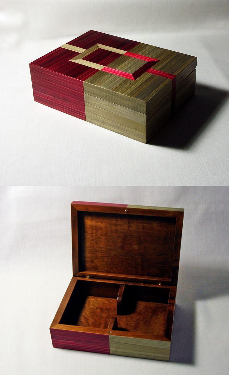 Decorative Boxes Coffret En Marqueterie De Paille Pour