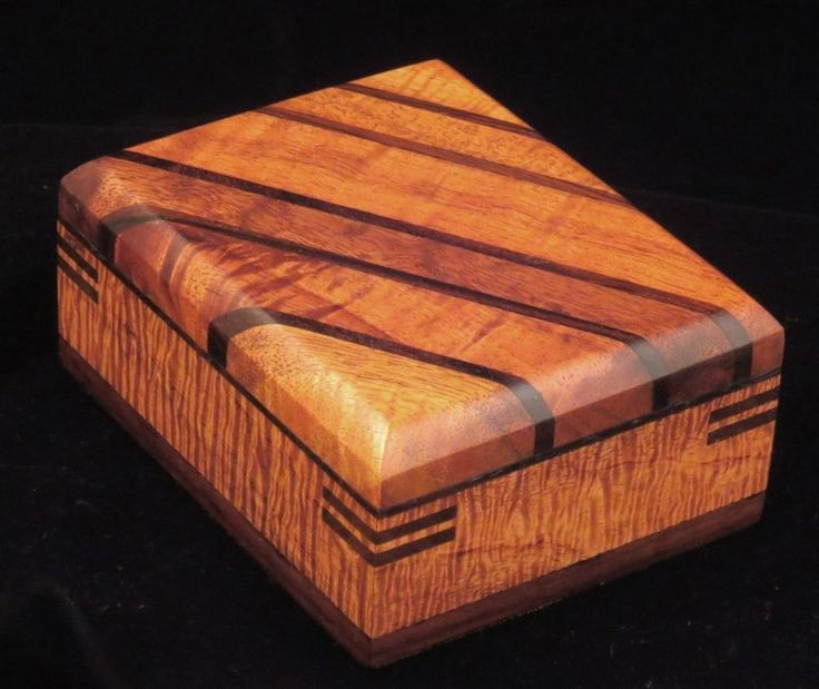 Custom Made Hard-Edged Box
