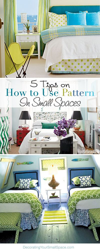 Furniture Bedrooms 5 Tips On How To Use Pattern In