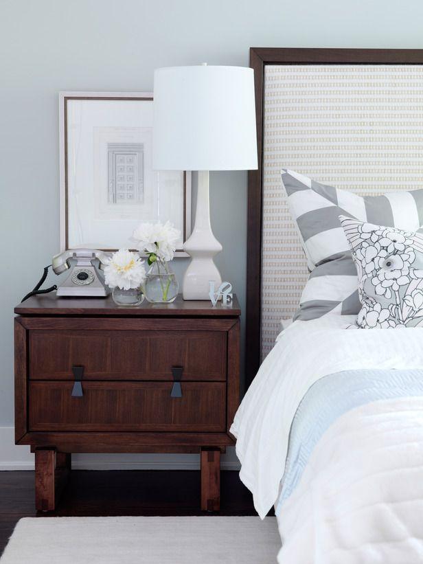 Sarah Richardsonu0027s Gray Bedroom