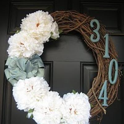 'Address Wreath'...brilliant!