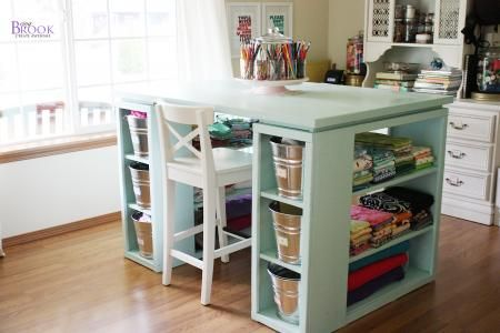 Craft Table DIY