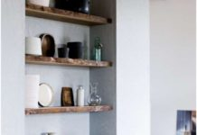 Wandplanken Van Beton : Home decor diys : how decorate a joyful and modern dining room for