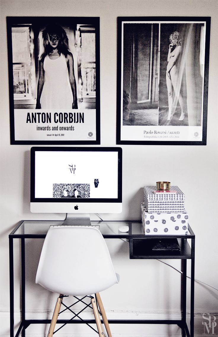 Home Decorating DIY Projects: My home office (vittsjö desk from IKEA ...