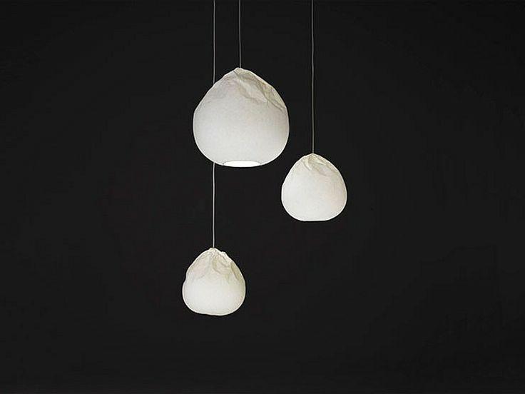 Interior Design Magazine: Nendo created the Semi-Wrinkle Washi series for Seibu ...