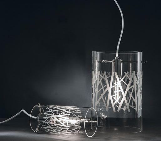 Woods Glass Pendant by Ilex Architectural Lighting #InteriorDesignMagazine #Inte...
