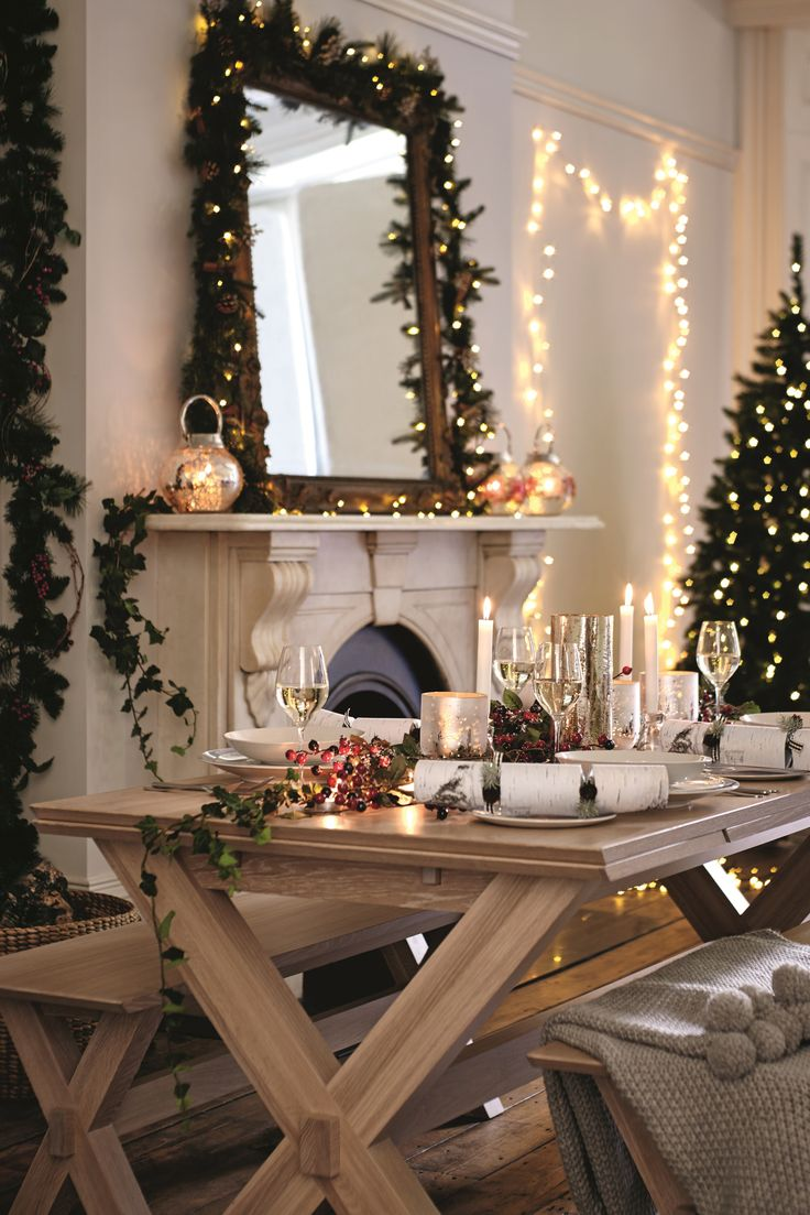 mirrors home decor christmas is all about decorating your - Decorating Your House For Christmas